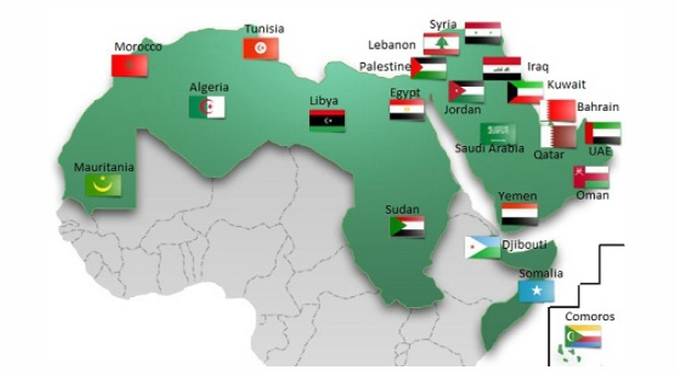 OPINION DECENTRALIZE FOR PEOPLES POWER IN ARAB SPRING COUNTRIES – Map of Arab Spring Countries