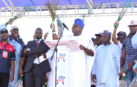 2015: Tinubu's 'Anointed' Candidate, Ambode, Declares Interest In Lagos Governorship Race