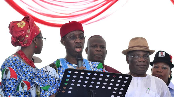 Delta 2015 : Okowa Declares For Governorship, Promises Robust Health Insurance Policy