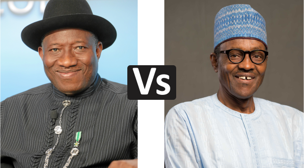 Image result for buhari and goodluck debate
