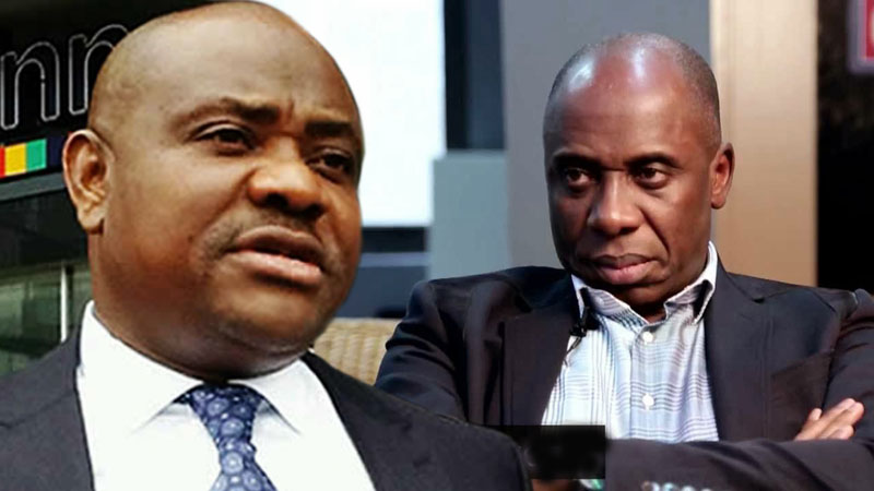 Image result for amaechi and wike