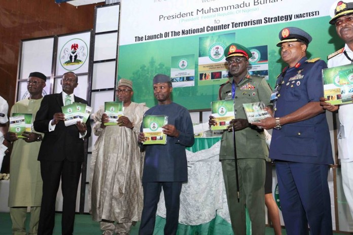 Speech By President Muhammadu Buhari, On The Occasion Of The Launch Of The Revised National Counter Terrorism Strategy