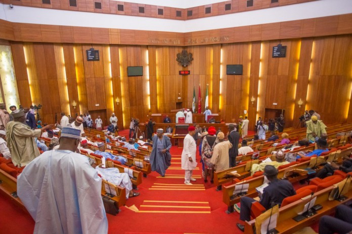 Senate Adjourns Sitting As Fire Breaks Out In National Assembly