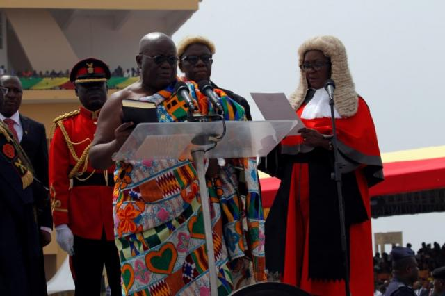 Image result for  Akufo-Addo sworn in as president of Ghana