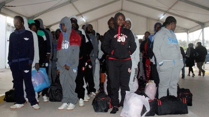 Image result for Italy Deports 40 Nigerians