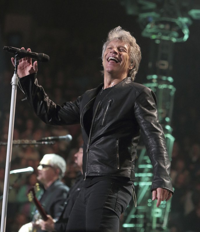 Bon jovi battling bronchitis postpones his weekend shows Bon jovi madison square garden april 15