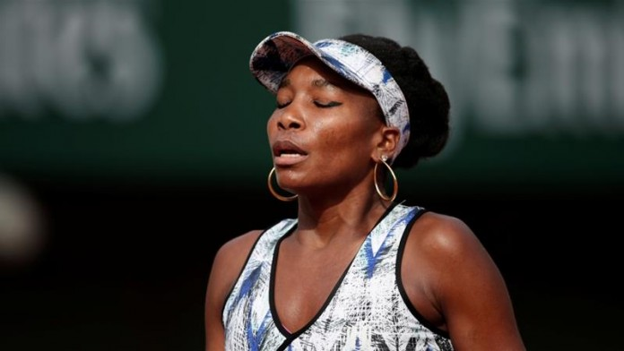 Fifth seed Venus Williams falls to Belinda Bencic in first round