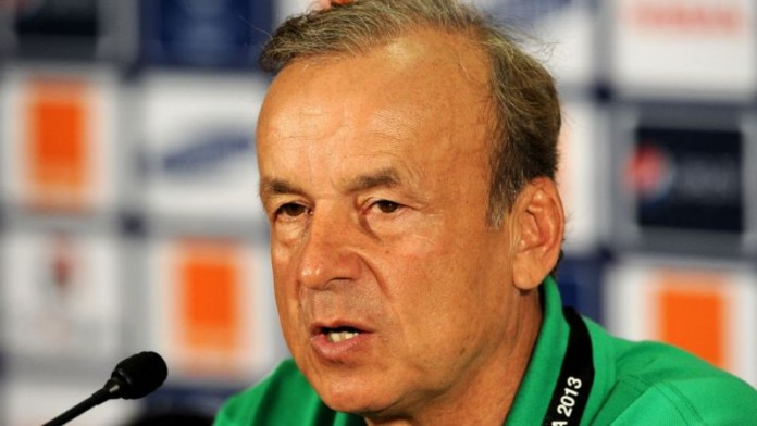 NFF renews Gernot Rohr's contract