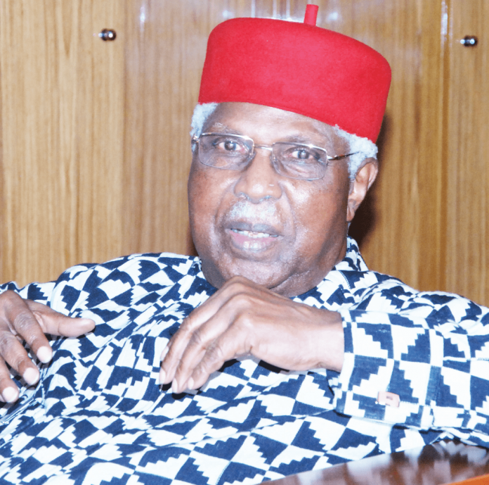 Former Vice President, Ekwueme Bows Out at 85