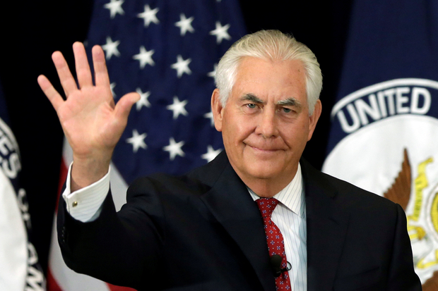 Tillerson falls ill on Africa tour, cancels events