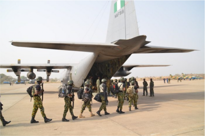 Nigerian troops pursue Boko Haram fighters after repelling attack