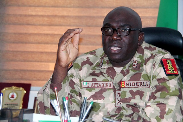 Nigeria Army replaces Commander Operation Lafiya Dole