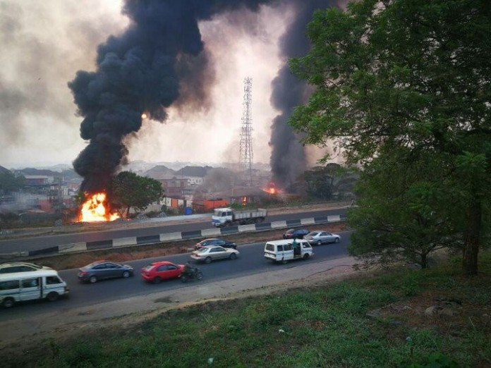 Two burnt to death as gas plant explode in Lagos