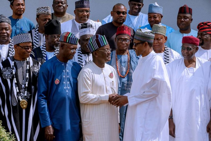 Benue Killings: Buhari meets Senate leaders
