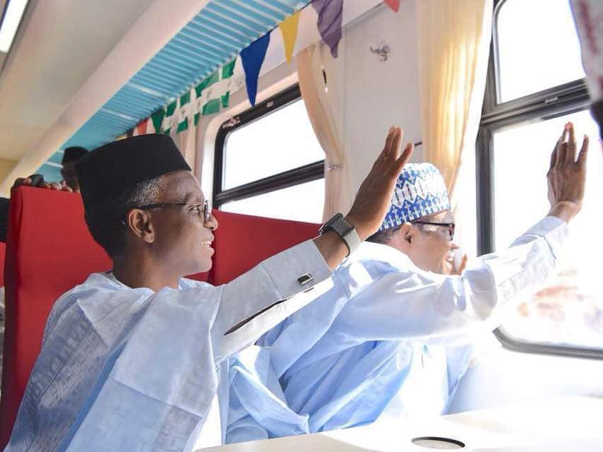 buhari train