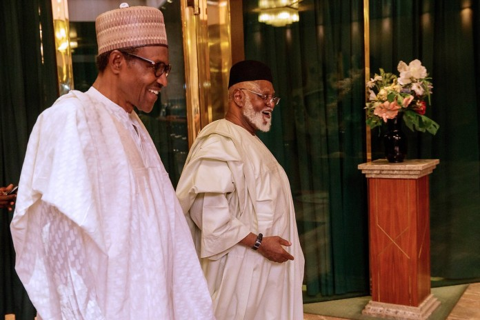 Buhari Warns Security Chiefs to 'Be Ahead Of' Attackers