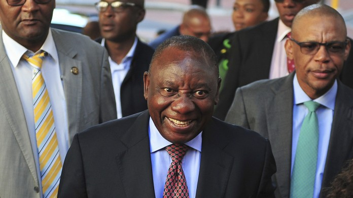 South Africa elects Ramaphosa as new president