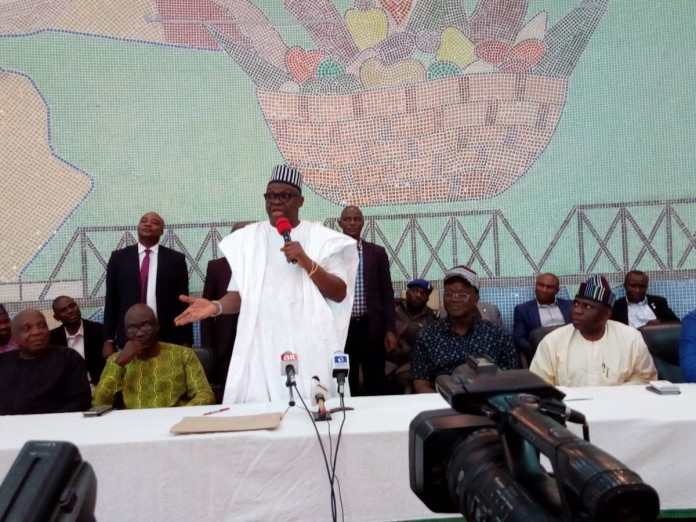 Fayose lands in Benue