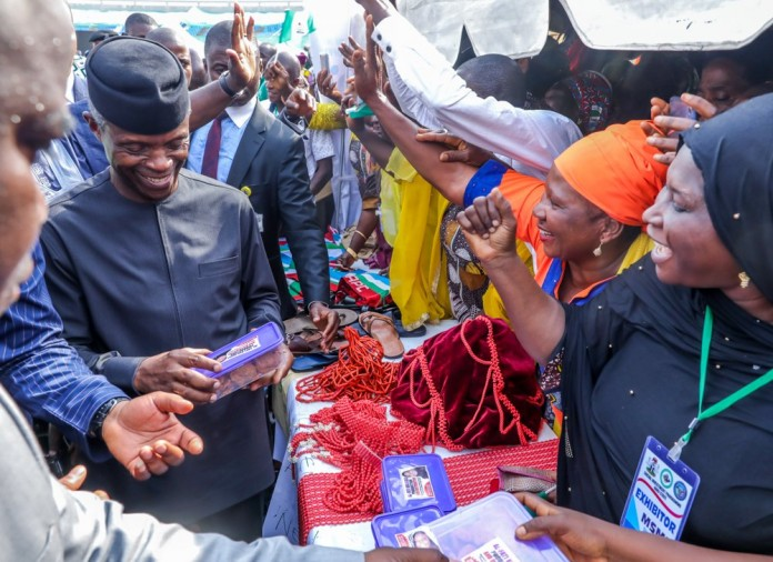 FG has spent N1.2trn to support states -Osinbajo