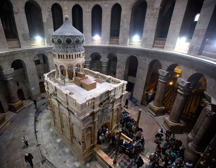 Famous Jerusalem church shut over tax protest