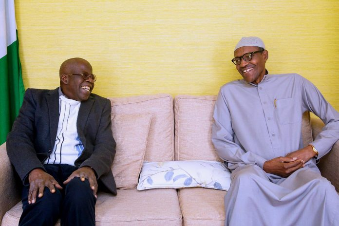 Buhari holds closed door meeting with UK Prime Minister
