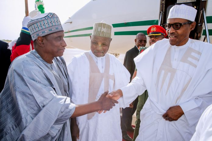 My quest for second term not for personal gain, says Buhari