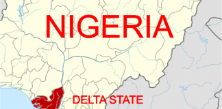 DELTA STATE MAP