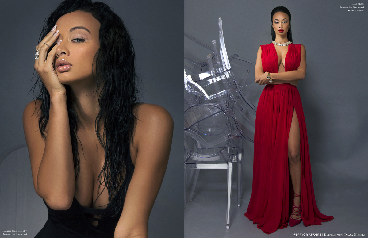 Reality Star Draya Michelle Looking Hot For Ferrvor ...