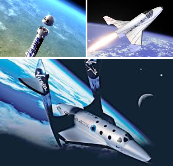 Image result for The New Space Race: 3 Commercial Spacecraft Operators To Sell Tickets for $150,000!