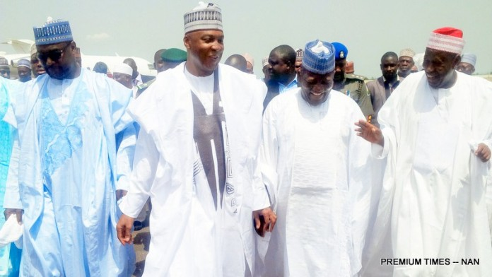 26 Private Jets Storm Minna For IBB Daughter's Wedding | THEWILL