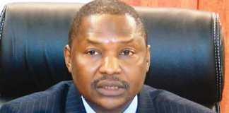 Mr. Abubakar Malami, SAN, Nigeria's Attorney-General and Minister of Justice.
