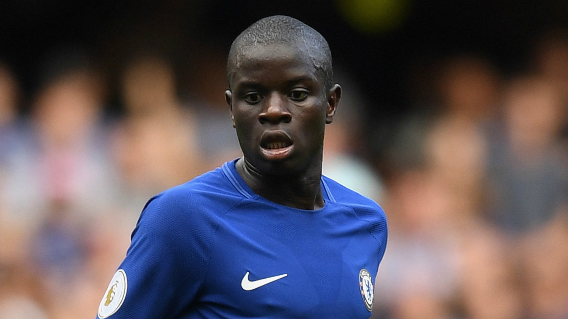 During Collapsed Revealed: Kante Before  Training Chelsea's