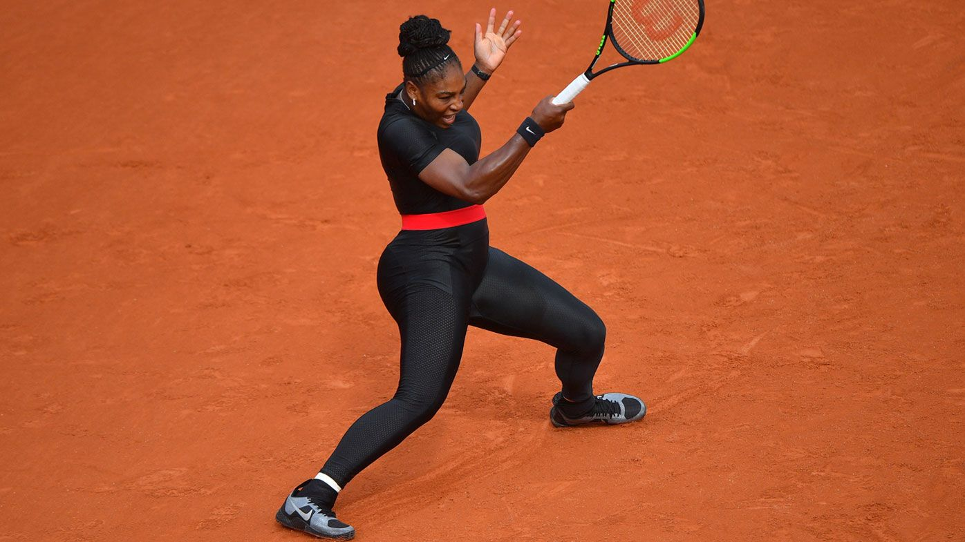 Serena Williams Banned From Wearing Her Super Hero