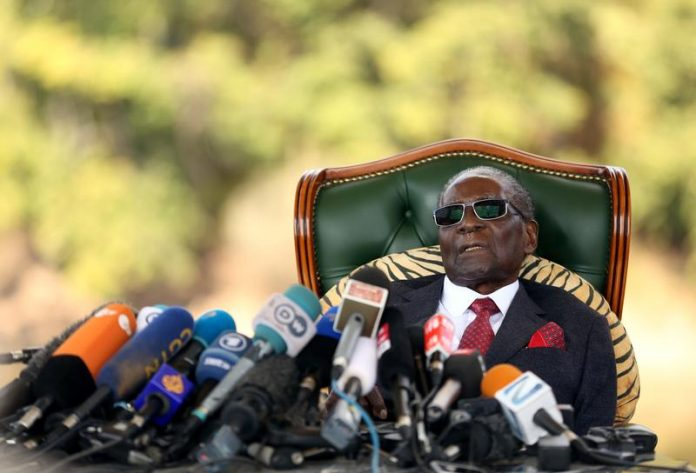 Mugabe unable to walk, Mnangagwa tells supporters