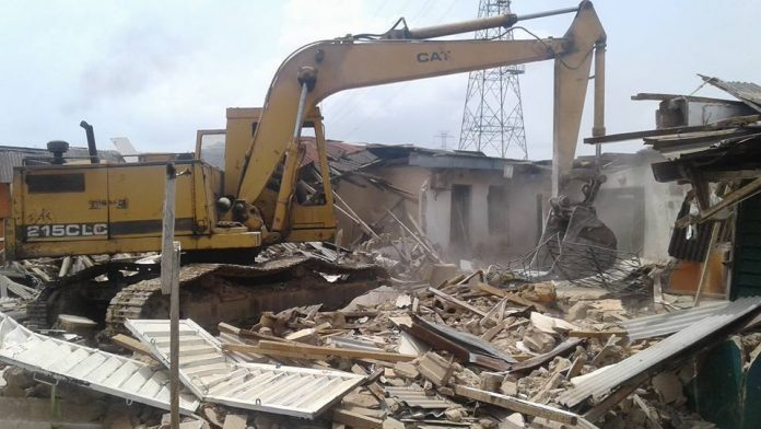 FCDA demolishes AIT's 'building' in Abuja