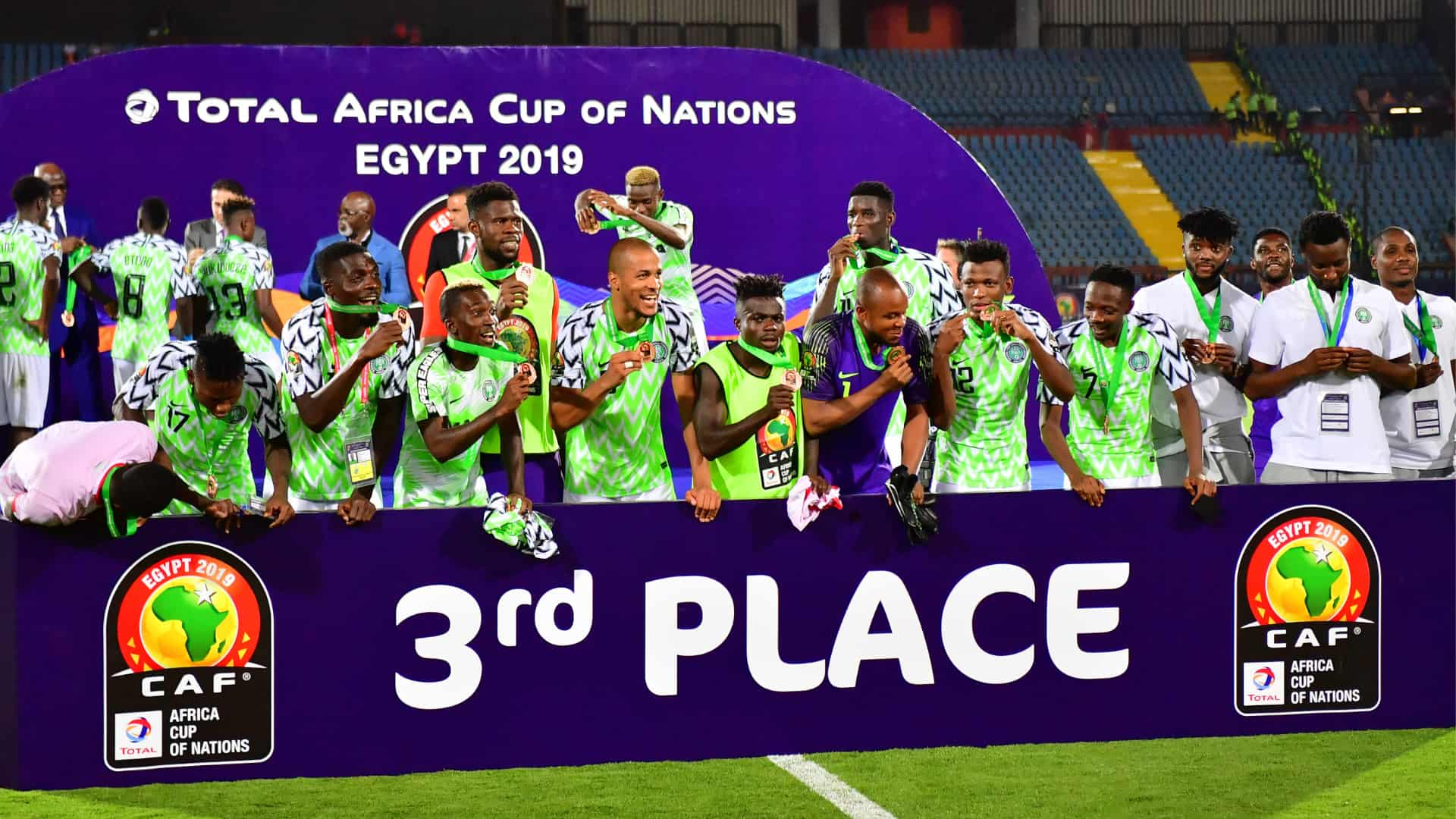 Image result for africa cup of nations 2019 nigeria vs tunisia