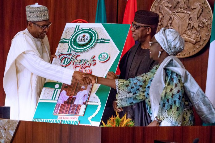 Image result for With Abiola as President, Nigeria could have been spared ethno-religious tensions - Buhari