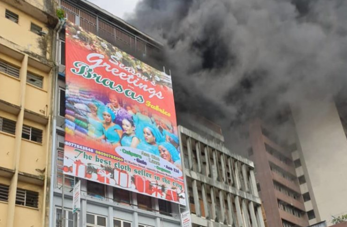 Goods worth millions of naira destroyed in Lagos fire incidents