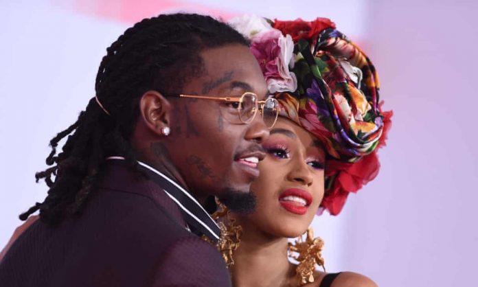 Cardi-B has filed for divorce from rapper husband Offset