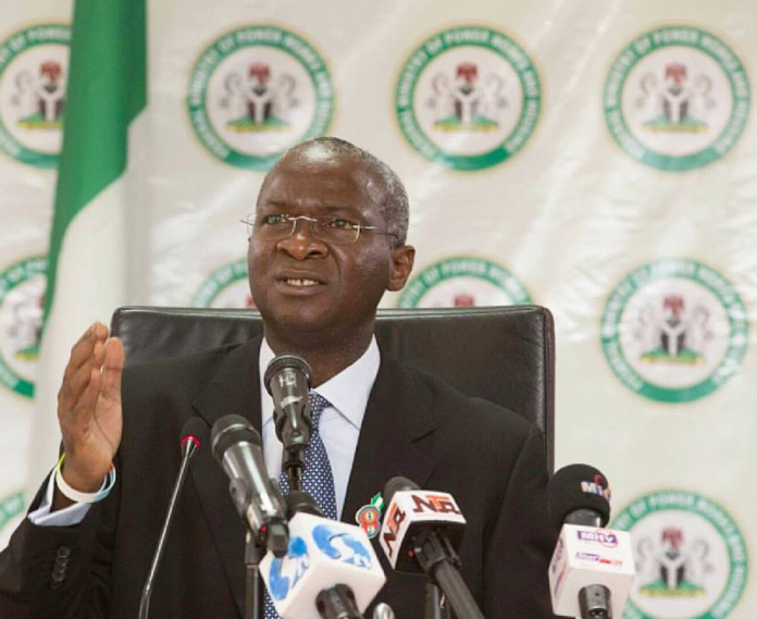 Minister of Power, Works and Housing, Babatunde Fashola (SAN)