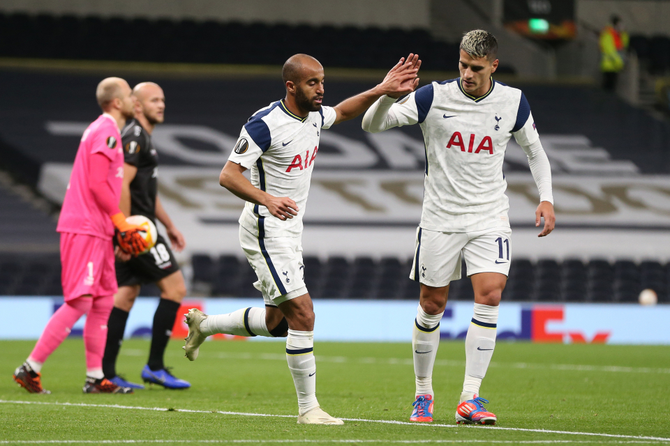 Spurs Begin Europa With Convincing 3-0 Win Over LASK