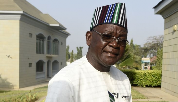 Samuel Ortom as the Governor of Benue State