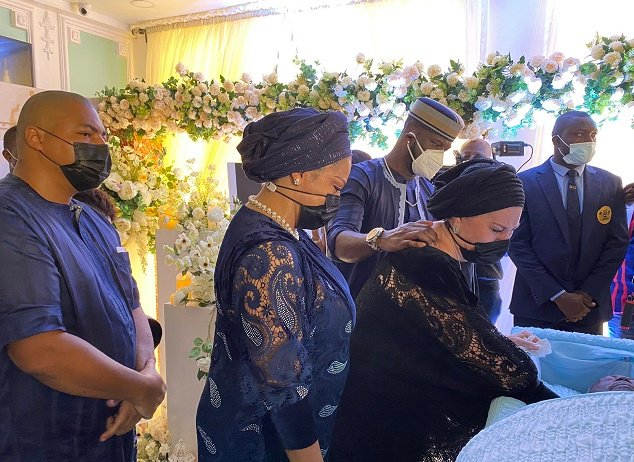 Peter Okoye's Father-In-Law Buried