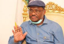 Rivers State's Governor Nyesom Wike