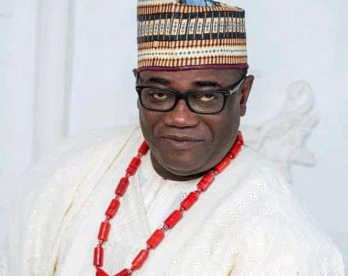 the third-in-rank to the Aiyede-Ogbese monarch, the Odopetu, High Chief Oladimeji Abitogun
