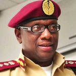 The Corps Marshal, Federal Road Safety Corps (FRSC), Dr. Boboye Oyeyemi