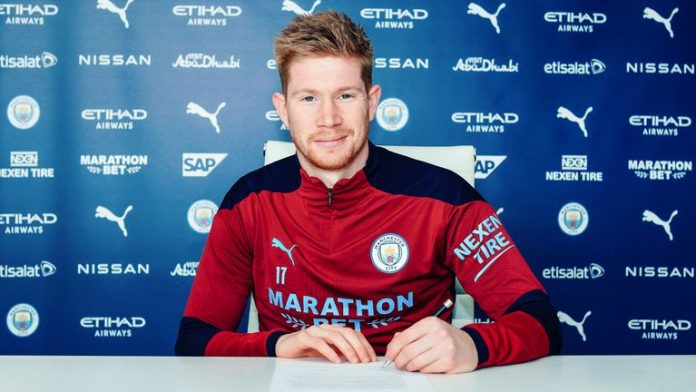 Man City's Kevin De Bruyne Signs 4-Year Contract Extension