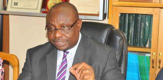 INEC's National Commissioner and Chairman of Information and Voter Education Committee, Festus Okoye
