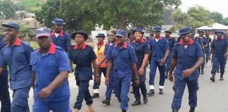 The Nigeria Security and Civil Defence Corps (NSCDC)