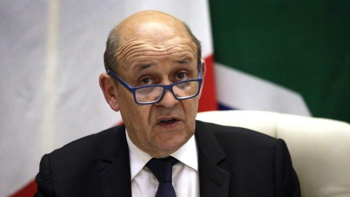 French Minister Of Europe and Foreign Affairs Jean-yves Le Drian